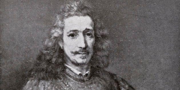 Baruch Spinoza (1632 Ð 1677), Dutch philosopher. Portrait by Rembrandt (1606 - 1669), Published in December...