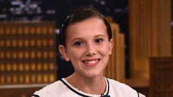 Millie Bobby Brown quer inspirar outras meninas a curtirem os cabelos
