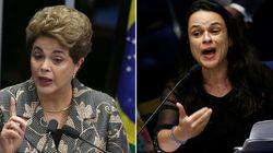Dilma Rousseff, Janaína Paschoal e a