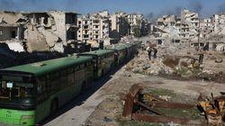 Em condições sub-humana, sírios que ainda estão em Aleppo serão resgatados neste