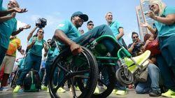 Aposta do Brasil nas paralimpíadas, esportistas do atletismo chegam ao