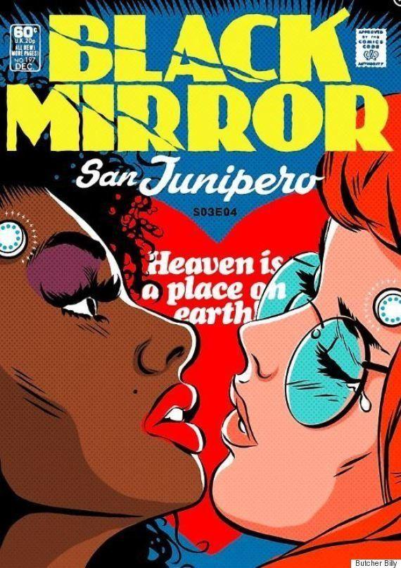 'Black Mirror': Artista brasileiro, Butcher Billy faz impressionantes capas de quadrinhos da