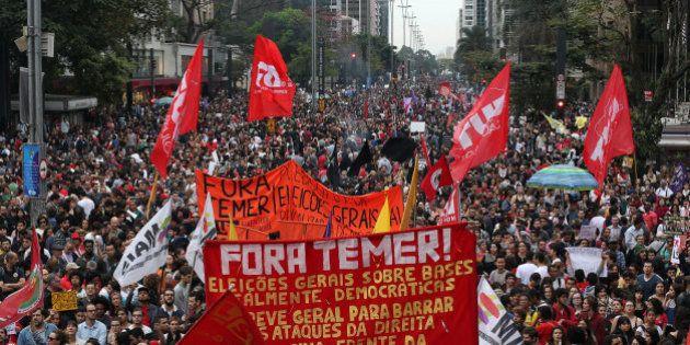 Ministro da Fazenda reconhece que protesto contra Temer tem 'número substancial', mas compara a atos...
