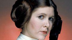 Carrie Fisher, a Princesa Leia de 'Star Wars', sofre ataque cardíaco, diz