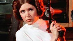 'Que a força esteja com você': As mensagens de amor e positividade para Carrie