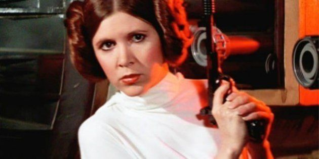 'Que a força esteja com você': As mensagens de amor e positividade enviadas à atriz Carrie