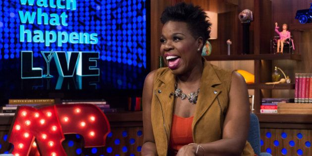 WATCH WHAT HAPPENS LIVE -- Pictured: Leslie Jones -- (Photo by: Charles Sykes/Bravo/NBCU Photo Bank via...