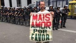 A PM ultrapassou todos os limites na repressão à manifestação pacífica contra Temer em
