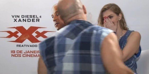 O pedido de desculpas de Vin Diesel pela entrevista constrangedora que concedeu à youtuber Carol