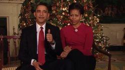 Se depender de Barack e Michelle Obama, seu Natal vai ser bastante