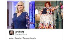 CORREÇÃO: Fake de Vera Holtz passou no Twitter para lembrar que Natal é época de comer MUITO