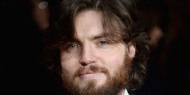 LONDON, ENGLAND - JANUARY 27: Actor Tom Burke attends 'The Invisible Woman' UK Premiere at the Odeon...