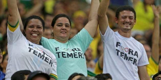 Mais vaias: Temer não foi poupado na abertura das Paralimpíadas no