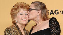 Carrie Fisher sobre a mãe, Debbie Reynolds: 'Dá medo ver a fama ir