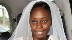 Esta noiva preferiu se casar sem maquiagem a ficar desconfortável na