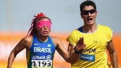 Atletas-guia se superam para acompanhar ritmo de campeões