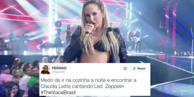 Cover de Claudia Leitte vira piada na final do The