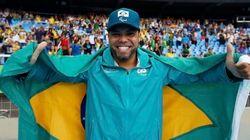 4º OURO! Claudiney Batista dos Santos é campeão de lançamento de disco na Rio