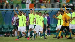 7a1 no futebol de 7! Brasil goleia Irlanda e garante vaga antecipada na
