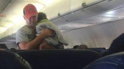 Gentileza de desconhecido em voo leva uma passageira às