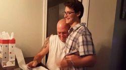 Garoto emociona padrasto ao pedir adoção: 'Você cuidou de mim de braços