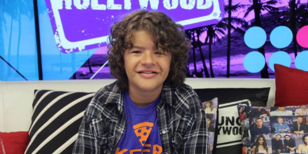 LOS ANGELES, CA - September 6: (EXCLUSIVE COVERAGE) Gaten Matarazzo from 'Stranger Things' visits the...