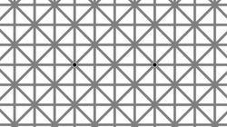 Nós duvidamos que você consegue ver TODOS os 12 pontos pretos nesta