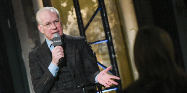 Television personality Tim Gunn attends AOL's BUILD Speaker Series at AOL Studios on Tuesday, Feb. 3,...