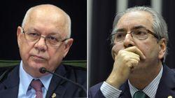 Teori nega pedido de prisão de Cunha e manda processo das contas na Suíça para