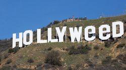 'Hollyweed': Homem altera famoso letreiro em LA com piada sobre