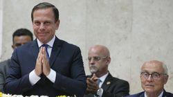 A posse de João Doria, o discurso de 'trabalhador' e a polarização