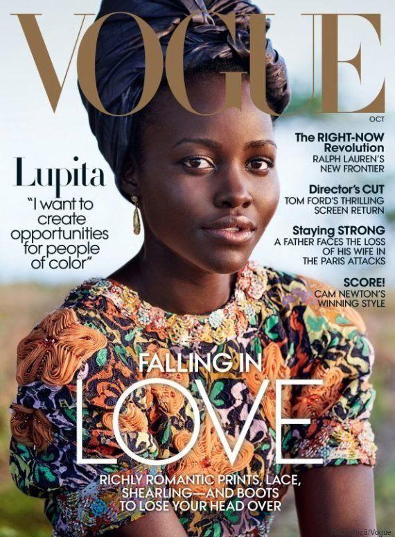 Lupita Nyong'o volta ao Quênia em ensaio para a Vogue: 'Quero criar oportunidades para outras pessoas