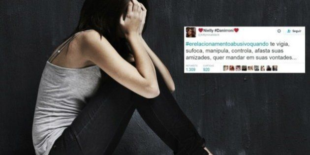 #ÉRelacionamentoAbusivoQuando: Mulheres usam hashtag para compartilhar situações de violência