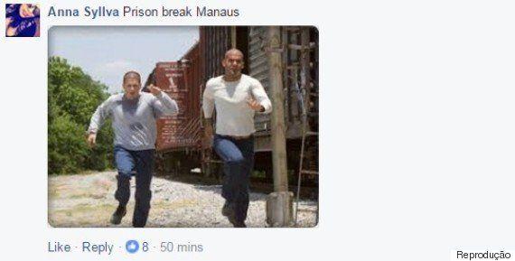 Homem posta foto ao fugir de presídio em Manaus e vira