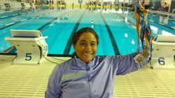 Para nadadora paralímpica, 5º lugar foi prêmio após assalto que mudou sua