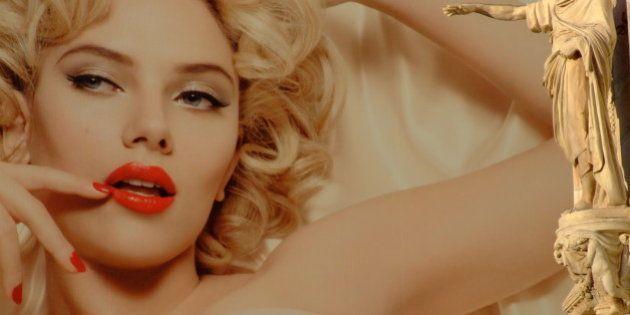 Scarlett Johansson vs. Milan's Duomo