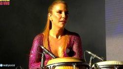 Ivete Sangalo interrompe show e dá bronca em fã grávida: 'Ô, bicha