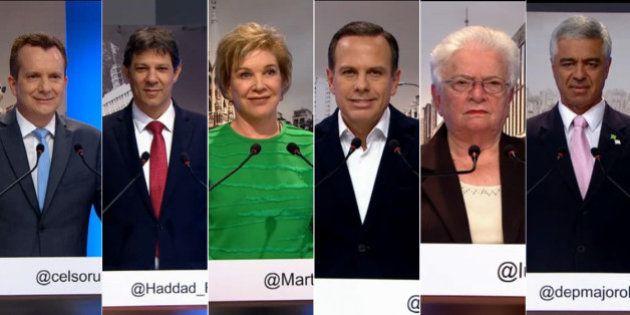 Debate entre candidatos de SP vira palanque para defesa de Lula, Temer e