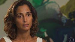 'Ele me salvou, me deu oportunidade de viver', diz Camila Pitanga sobre