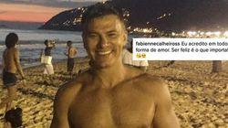 Fãs fazem corrente de amor por Leonardo Vieira, alvo de comentários