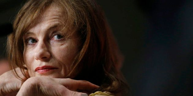 Actress Isabelle Huppert attends a news conference for the