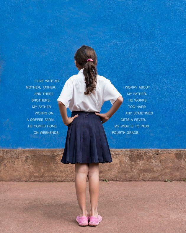 Fotografias traçam perfil de alunos da 4ª série ao redor do