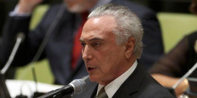 Na ONU, Temer diz que Brasil vai modernizar leis migratórias para acolher