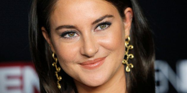Actress Shailene Woodley attends the premiere of the
