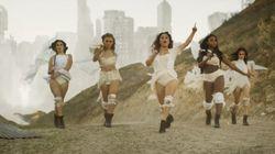 Fifth Harmony te ensina a salvar o mundo com bate-cabelo, maquiagem e salto alto em 'That's My
