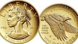 Pela 1ª vez, uma mulher negra estampa moeda comemorativa dos