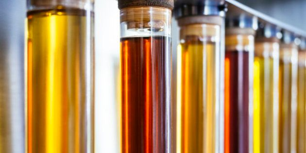 Ethanol oil test in Tube Fuel Biodiesel Energy research