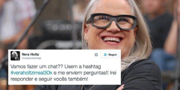 CORREÇÃO: Toda sexta-feira o Twitter fake da Vera Holtz se transforma em um grande