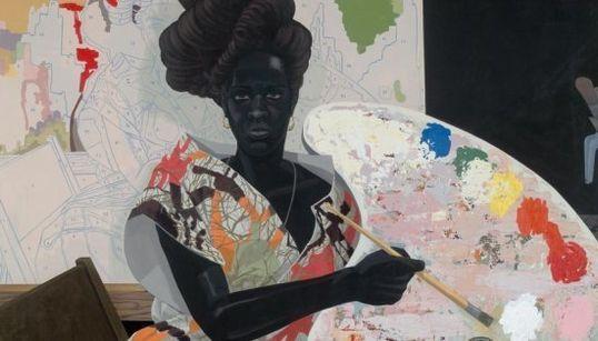 Kerry James Marshall, um pintor que está revolucionando a cor predominante nas