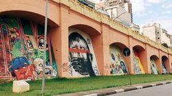 Doria vai apagar grafites dos 'Arcos do